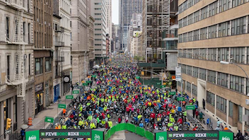 #5 Sports Event (up from #5) The 40-mile bicycle race on car-free streets throughout the five boroughs celebrates its 40th anniversary in 2017 with an expected turnout of more than 32,000 cyclists. TD Bank returns as the event's title sponsor. Next: May 7, 2017