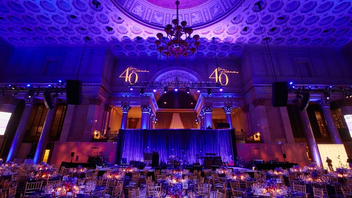 #15 Benefit This year marks the 20th anniversary of the Samuel Waxman Cancer Research Foundation's Collaborating for a Cure Gala. More than 800 corporate executives, board members, and guests attend the event, which raised $2.5 million in 2016. Next: November 16, 2017