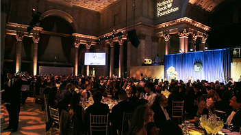 #4 Media Event Last year's National Book Awards, hosted by Larry Wilmore, honored authors including Colson Whitehead, Ibrahim X. Kendi, and Nate Powell. This year marks the 68th annual iteration of the prestigious awards from the National Book Foundation, which recognizes the best U.S. literature. Next: November 17, 2017