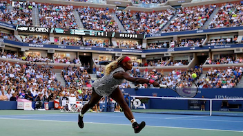 #1 Sports Event The best tennis players in the world compete in the prestigious U.S. Open, which draws about 700,000 spectators each year. Stan Wawrinka and Angelique Kerber took the top prizes in 2016. In 2016, the tournament debuted a retractable roof over Arthur Ashe Stadium, a revamped South Plaza, and a sunken-court Grandstand. Next: August 28-September 10, 2017