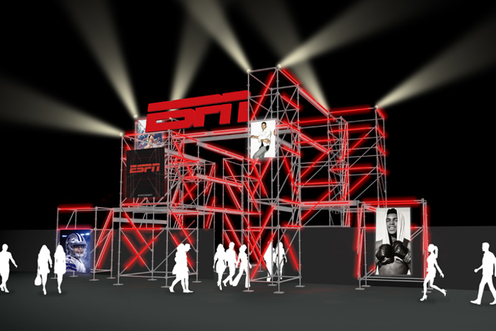 ESPN the Party, now in its 13th year, will have a 'chic' construction theme.