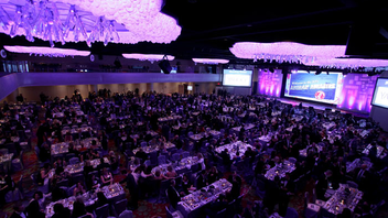 #3 Hospitality Industry Event This year marks the 60th anniversary of the Adrian Awards, which honor the best in sales, marketing, and public relations in the hospitality industry. The event, held this year at the New York Marriott Marquis, attracts about 1,000 guests. Next: February 21, 2017