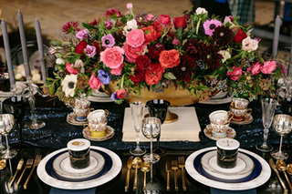 8 Ideas for a Grown-Up Tabletop Inspired by 'Beauty and the Beast'