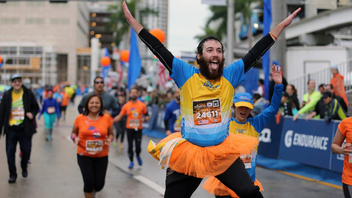#5 Sports Event (up from #6) Some 24,000 runners participated in the full and half-marathon this January, where participants running all 26.2 miles pass the Port of Miami, Miami Beach, Coconut Grove, and the Rickenbacker Causeway. Next: January 28, 2018
