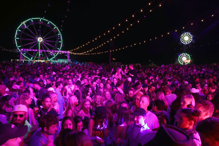 The Fyre Festival was billed as a competitor to Coachella (pictured), which was held over two weekends in April in Indio, California.