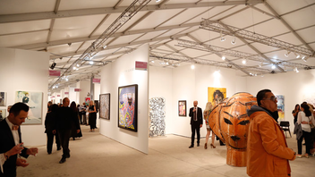 #3 Art & Design Event The fair, which launches Miami's annual Art Week, drew a record crowd of more than 78,500 for its 27th edition. For 2017, the fair, along with sister event Context Art Miami, will move to a new location along Biscayne Bay to accommodate the combined 235 galleries participating in the events. Next: December 5-10, 2017