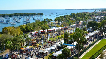 #5 Art & Design Event About 120,000 people fill the streets of Coconut Grove on President's Day weekend to browse paintings, sculptures, and other work by 360 artists. Next: February 17-19, 2018