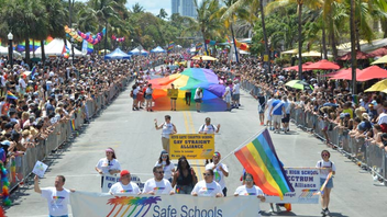 #5 Parade & Festival Organizers estimated that more than 135,000 people participated in the festival, which this year added a memorial to the victims of the Pulse nightclub shooting. For the parade, organizers named four grand marshals. Next: April 6-8, 2018