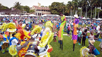 #6 Food & Restaurant Industry Event A sold-out crowd of 8,500 enjoyed the 13th annual iteration of the festival, which featured a Bahamian junkanoo parade and other live music, plus a rock-climbing wall, activities for kids, and multiple cooking demonstrations. Next: March 25, 2018