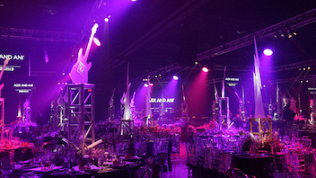 "#1 Benefit Some 800 guests gathered at Ice Palace Studios the 20th anniversary of the black-tie gala, which raised $2.5 million for Best Buddies International. This year's fete featured a ""rock legends"" theme and a live performance by Kesha. Next: November 17, 2017"