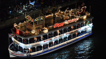 #4 Parade & Festival An estimated one million people watch some 100 vessels make their way through a 12-mile route along Intracoastal Waterway and nearby waterways in this parade, which celebrated its 45th anniversary last year. This year features a 'Broadway on Parade' theme. Next: December 9, 2017