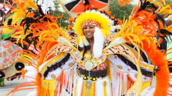 #12 Parade & Festival The celebration of Caribbean culture attracted 15,000 colorfully costumed masqueraders, competing with displays of Caribbean music and dance. Some 45,000 people fill the Miami-Dade County Fairgrounds to experience island cuisine and steel drums. Next: October 8, 2017