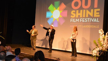 #2 Film & Media Event The event—first known as the Miami Gay and Lesbian Film Festival when it launched in 1998, before joining forces with its Fort Lauderdale counterpart in 2015 as the MiFo LGBT Film Festival—rebranded this year as Outshine and featured 63 films. Next: April 20-29, 2018