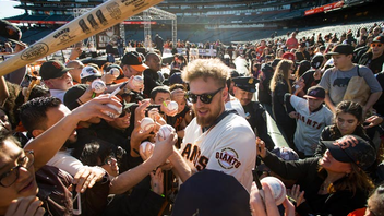 #7 Sports Event The annual event invites fans to mingle with the San Francisco Giants on the field in AT&T Park. Kids can visit the autograph booths to meet the team, and everyone can gawk at the World Series trophies and take selfies in the dugouts or press box. Fans who want a good spot in line know to arrive one or two hours early. Next: February 2018