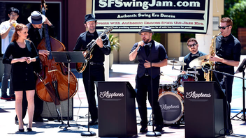 #6 Music Event (up from #7) The largest free jazz festival on the West Coast, Fillmore Street Jazz Festival attracts more than 100,000 visitors each year. Guests enjoy live music at multiple stages throughout the weekend while browsing 12 blocks of food and art vendors. Next: July 1-2, 2017