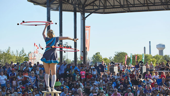 #4 Festival & Parade Buskers of all stripes return to the east end's Woodbine Park this year, which will feature a 100-seat mini circus tent offering lively 15-minute shows. Organizers expect attendance to top last year's 150,000 as awareness of the new location grows. Next: September 1-4, 2017