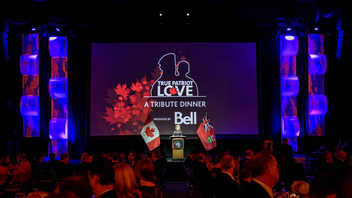 #3 Benefit (up from #4) The event honors women in uniform this year and is expecting attendance to grow for its ninth edition to 1,200 at the Metro Toronto Convention Centre. Last year, $1.6 million was raised for the Canadian Armed Forces, veterans, and military families. Bell returns as presenting sponsor. Next: November 9, 2017