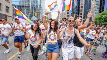 #1 Festival & Parade Pride returned for a month-long celebration in 2017, culminating in the 37th annual Pride parade. Prime Minister Justin Trudeau joined Toronto Mayor John Tory and Ontario Premier Kathleen Wynne at the immensely popular parade, where Mercedes-Benz Canada was a first-time sponsor. Next: June 2018