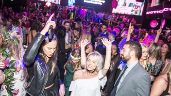 """#15 Benefit TopShop and Tito's Handmade Vodka return as sponsors this year when the youthful event takes place at Rebel, the former Sound Academy, where it was hosted in 2016. The theme for this year is """"Let's Get Physical,"""" and attendance is expected to grow to 2,000, from 1,800. The fund-raising goal is $500,000. Next: October 13, 2017"""