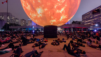 """#2 Art & Design Event About one million art-loving night owls hit the streets in 2016, creating an economic impact of $43 million, according to the City of Toronto. The theme for 2017 is """"Many Possible Futures,"""" marking Canada's 150th birthday. Next: September 30, 2017"""