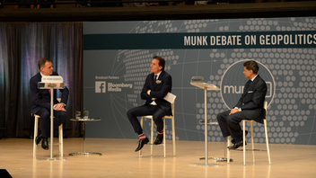 #4 Media & Literary Event The public policy debates—featuring the likes of Newt Gingrich and Fareed Zakaria—continue to sell out Roy Thomson Hall twice a year. For the spring 2017 event, a partnership with Facebook was forged to help increase awareness and gain a larger online viewing audience. Next: November 2017
