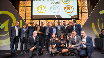 """#8 Advertising & Marketing Event The awards returned to the Fairmont Royal York in 2016, when Touché took home seven golds, including three for its """"Fastest Campaign Ever"""" for Sport Chek. This year promises a refresh in judging criteria and the addition of new entry categories. Next: December 2017"""