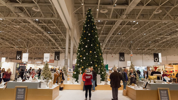 #9 Trade Show & Convention About 10 percent more holiday shoppers—totaling more than 140,000—headed to the Enercare Centre last December for the seasonal craft and design sale. The number of vendors remained steady at 800. Next: November 23-December 3, 2017