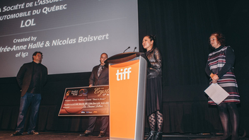 #7 Advertising & Marketing Event (up from #9) The radio creative awards moved to a new venue, the TIFF Bell Lightbox, in 2017, with about 190 people attending. Agency lg2 won the 2017 Platinum Crystals Award for its work with La Société de l'Assurance Automobile du Québec. Next: Spring 2018