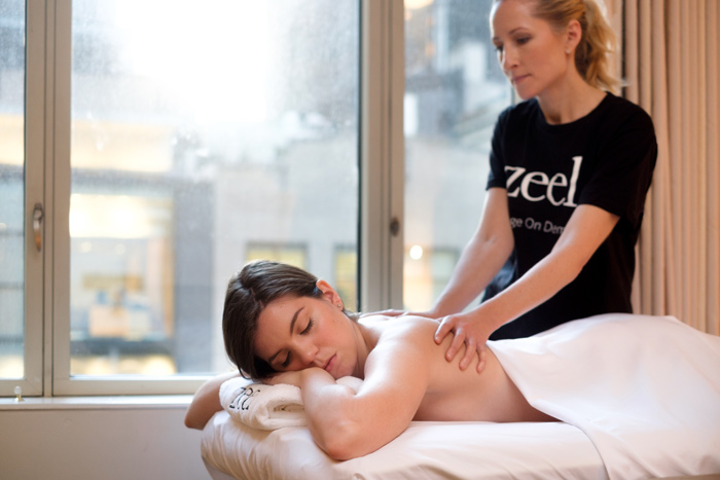Planners can arrange for guests to get massages from licensed therapists provided by Zeel, an on-demand massage company that operates in 70 cities.
