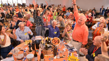 Naples, Florida #4 Benefit (up from #6) More than 60 top-shelf live auction lots dazzled the festival's 600 attendees, including the first Audi MY 18 R8 Spyder to be physically delivered in the United States as well as a 2017 McLaren 570 GT. Top vintners and celebrity chefs cooked up 18 dinners, producing $10.5 million. Next: January 26-28, 2018