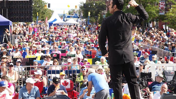 Collingwood #12 Festival & Parade A new location for the festival's stage provided more seating and extra room for backstage meet-and-greet events this year at the world's largest Elvis festival. OLG returned as the main sponsor, and Loblaw and Theatre Collingwood joined for the first time. Next: July 27-29, 2018