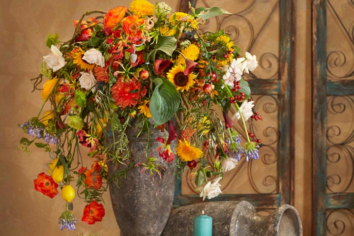 Unique And Natural Top List Of Floral Design Trends For 2018