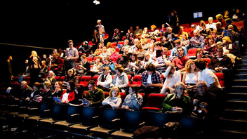 St. John's #7 Entertainment Industry Event (up from #8) Between 3,000 and 4,000 spectators were expected at this year's festival, which has a goal of supporting and promoting women filmmakers and takes place in four venues in picturesque St. John's. A total of 42 films were scheduled for screening this year—fewer than last year but many of them longer in length—and CBC remained a premier sponsor. Next: October 18-22, 2017