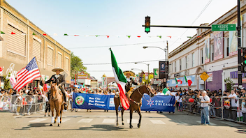 #8 Parade & Holiday Event Now in its 48th year, the parade is a colorful celebration of Mexican pride. The event travels down 26th Street as tens of thousands of spectators look on, and culminates in a community celebration with music, food, and carnival rides. Next: September 2018