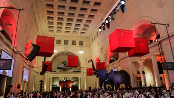 #1 Benefit (up from #2) While the 2016 benefit pulled in $2.4 million, this year's event raised an impressive $6 million. Held for the first time at the Field Museum, the ball drew 1,100 guests—as opposed to 750 in 2016. The event draws strong corporate support, and Boeing Company was the presenting sponsor this year. Notable attendees included Mayor Rahm Emanuel, and The Late, Late Show host James Corden was the M.C. Next: Spring 2018