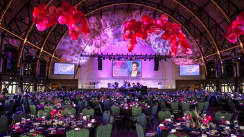 #5 Benefit The 2017 gala once again took place at Navy Pier. Actor John Stamos was the emcee, and the night drew 969 guests and raised $2.4 million. Next: Spring 2018