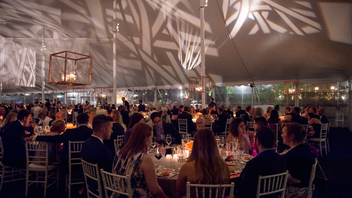 #4 Theater, Dance & Music Event Some 700 guests attended this year's gala, which featured a concert led by conductor James Conlon and violinist Itzhak Perlman. Afterward, gala guests sat down to a three-course dinner in a festive tent on festival grounds. The evening raised $1 million. Next: July 2018