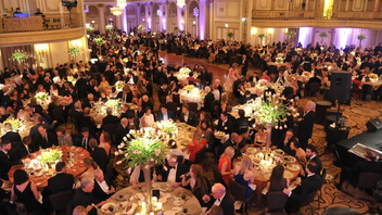 #6 Theater, Dance & Music Event Starting with a performance at the Auditorium Theatre, the black-tie gala went on to offer cocktails, dinner, and dancing at the Palmer House Hilton. Some 700 guests attended the event, which raised $1.6 million. Next: Spring 2018