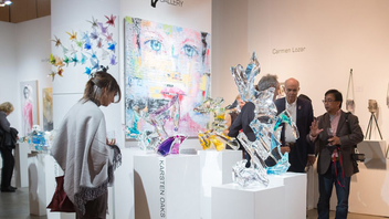#3 Art & Architecture Event Named after an acronym for Sculptural Objects and Functional Art, the event showcases everything from studio jewelry to fiber, metal, and paintings. In 2016, some 70 galleries were represented on site, and 32,000 guests attended the fair. Next: November 2-5, 2017