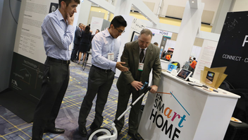 #3 Trade Show & Convention The sold-out 2017 show had 2,204 exhibitors, which marks an increase over the 2,100 exhibitors in 2016. This year's show had an increased focus on smart and connected products, and featured the first Smart Home Pavilion. The event also had increased exposure on blogs and other types of online media. Next: March 10-13, 2018