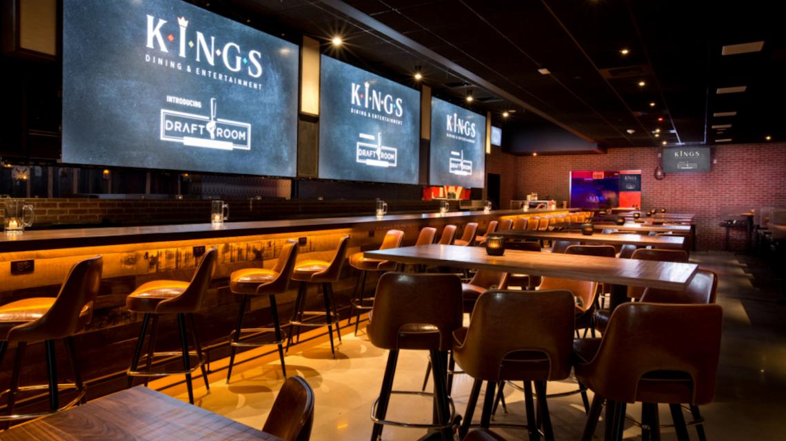 Kings Dining Entertainment Boston Seaport Bizbash