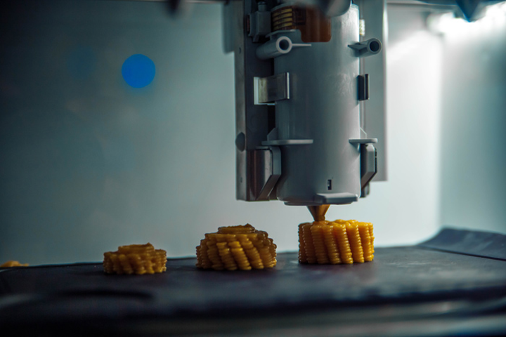 Foodini is a 3-D food printer that can make everything from ravioli to chocolate sculptures.