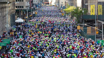 #5 Sports Event Every spring, 32,000 cyclists from all over the world participate in the TD Five Boro Bike Tour Presented by REI, which raises money for Bike New York's free education programs. The 40-mile route takes riders on car-free streets throughout all five boroughs. Next: May 6, 2018