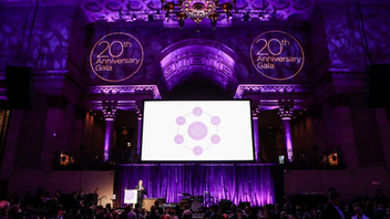 #15 Benefit The Samuel Waxman Cancer Research Center has hosted the Collaborating for a Cure Gala since 1997. Chris Wragge of CBS 2 News emceed last year's event at Cipriani Wall Street, which was attended by 800 guests and featured a musical performance from the Avett Brothers. Hugh Hildesley, executive vice president of Sotheby's, led a live auction that contributed to the fund-raising total of $2.5 million for cancer research programs. Ziggy Marley, Joe Walsh, Steely Dan, and Counting Crows have provided entertainment in past years. Next: November 15, 2018