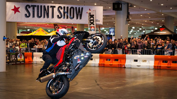 #3 Trade Show & Convention The Progressive International Motorcycle Show New York at the Jacob K. Javits Center showcases what's new and next in the world of motorcycles. The 2017 event included two new retail spaces: Shift at IMS, which featured lifestyle brands geared toward riders, and Adventure Out! for adventurers and travelers. New York is one of seven stops for this touring show. Next: December 2018