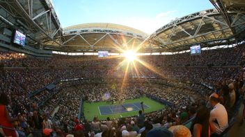 "#1 Sports Event Nearly 700,000 fans convened at the U.S.T.A. Billie Jean King National Tennis Center in Queens to watch tennis's top stars compete at the 2017 U.S. Open. In 2018, the center will unveil the new Louis Armstrong Stadium, a 14,000-seat state-of-the-art venue. This year also marks the 50th anniversary of the ""Open Era"" of tennis, when professionals and amateurs were finally allowed to compete against each other. Next: August 27-September 9, 2018"