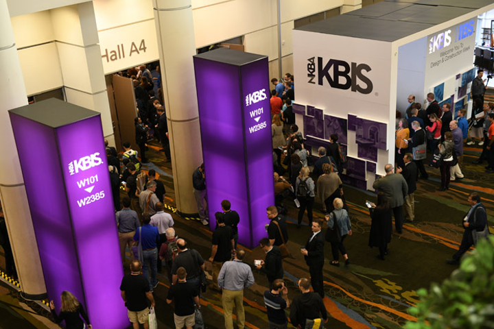 KBIS, an annual show from the National Kitchen and Bath Association, met January 9 to 11 at the Orange County Convention Center in Orlando.