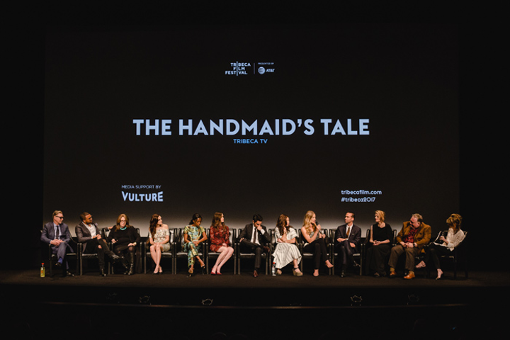Television programming has been a part of the festival since it screened the series finale of Friends in 2004. In 2017, it featured a panel with cast and creators of Hulu's The Handmaid's Tale. This year's world premieres include shows from Netflix, YouTube Red, National Geographic, and ESPN.