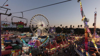 """#2 Festival & Fair While the fair experienced an attendance drop last year, it still draws around 1.3 million visitors annually. Hoping to attract more people, the 2018 event at the Fairplex in Pomona will offer more discounts on tickets and food items, and won't charge extra for special fair exhibits. The theme will be """"Get Your Kicks,"""" a tribute to Route 66, and food vendors will offer on-theme items for $6.60. The event first bowed in 1922 when it drew fewer than 50,000 visitors. Next: August 31-September 23, 2018"""