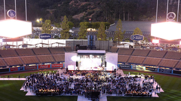 #7 Sports Event (new to the list) In just three years, the Los Angeles Dodgers Foundation's annual gala has become a must-attend event among sports fans and philanthropists. Taking place at Dodger Stadium, the sold-out benefit drew 1,500 guests in 2017—up from 1,000 the year before—and raised $1.5 million; it also featured performances by Maroon 5 and Earth, Wind & Fire, while the 2018 event next month will have John Legend. Proceeds from the Blue Diamond Gala help the Los Angeles Dodgers Foundation reach its goal of building 50 baseball fields in underserved communities. Next: June 11, 2018